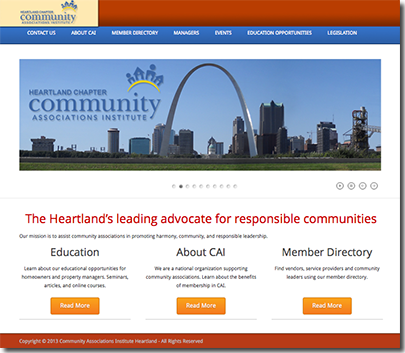Welcome to the New CAI Heartland Website