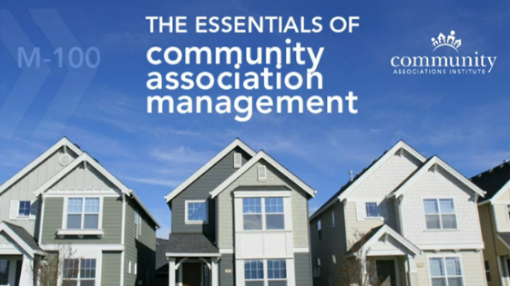 M-100: The Essentials of Community Association Management