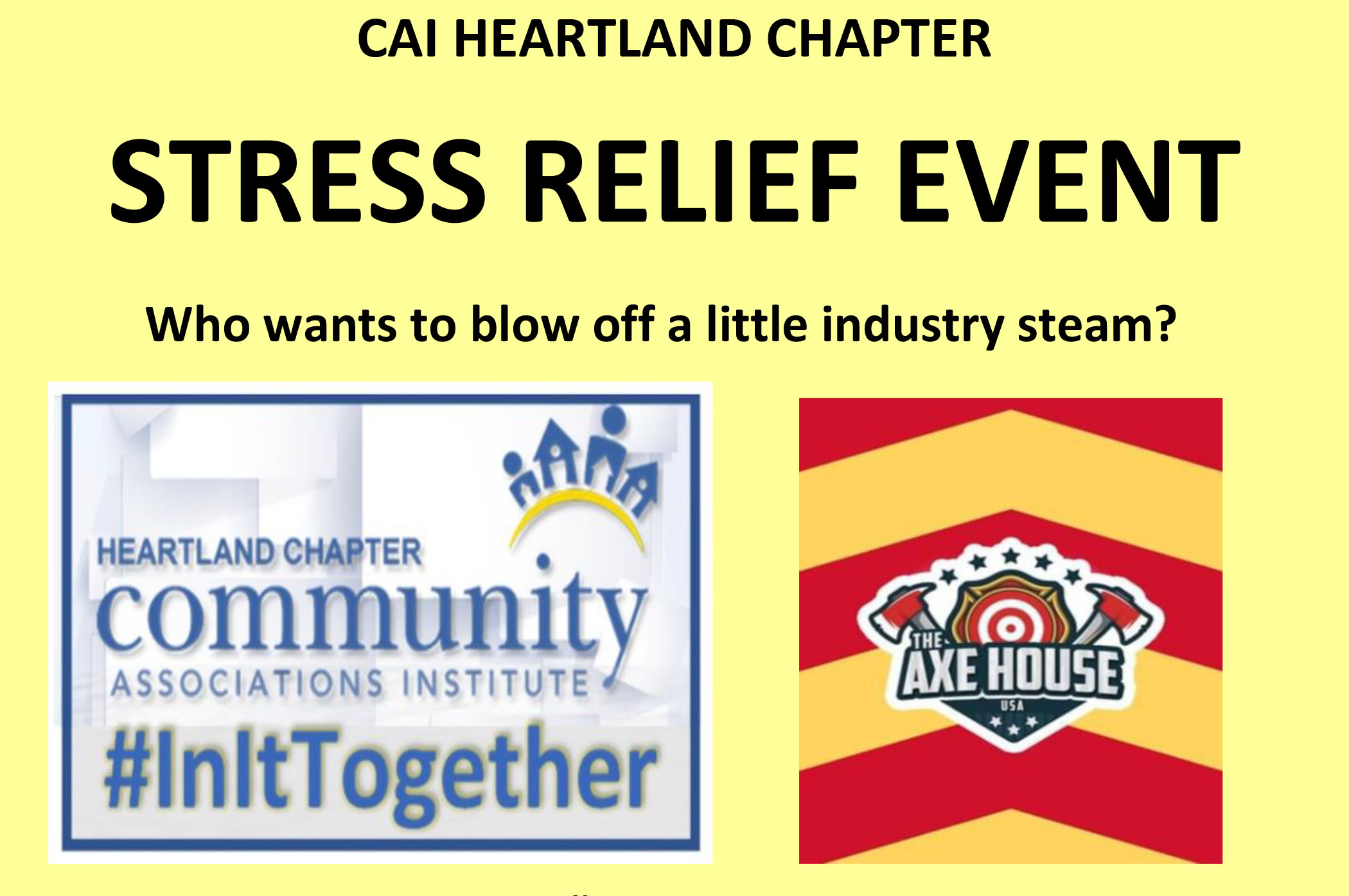 Stress Relief Event – March 27