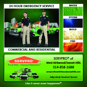 Visit Servpro West Kirkwood/Sunset Hills